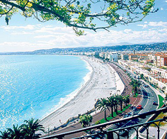 Nice Wide Beach France Holidays Packages