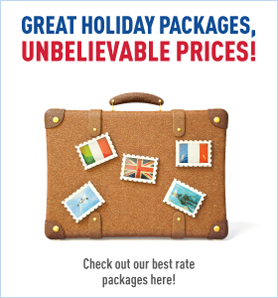 Great Holiday Packages check out our best rate packages here