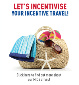 Lets incentives click here to find out more about our MICE offers